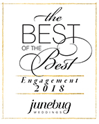 Junebug weddings world's best wedding photography badge